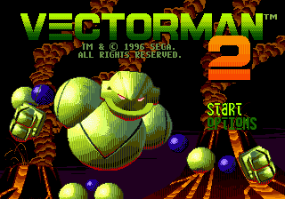 Vectorman 2 (USA) Title Screen