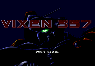 Vixen 357 (Japan) Title Screen