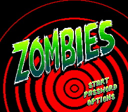 Zombies (Europe) Title Screen