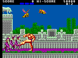 Altered Beast (USA, Europe) In game screenshot