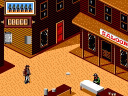 Back to the Future Part III (Europe) In game screenshot