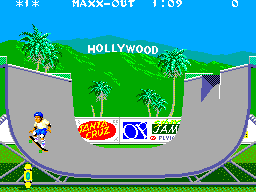 California Games (USA, Europe) In game screenshot