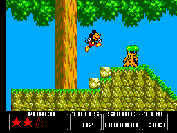 Castle of Illusion Starring Mickey Mouse (USA) In game screenshot