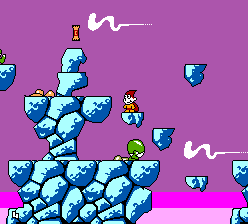 Cosmic Spacehead (Europe) (En,Fr,De,Es) In game screenshot