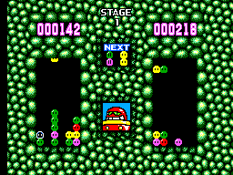 Dr. Robotnik's Mean Bean Machine (Europe) In game screenshot