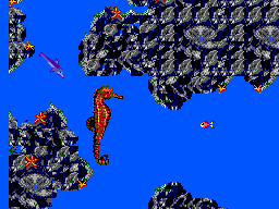 Ecco - The Tides of Time (Brazil) In game screenshot