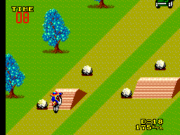 Enduro Racer (USA, Europe) In game screenshot