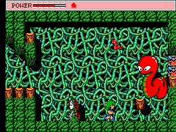 Golvellius (USA, Europe) In game screenshot