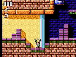Krusty's Fun House (Europe) In game screenshot