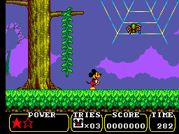 Land of Illusion Starring Mickey Mouse (Europe) In game screenshot