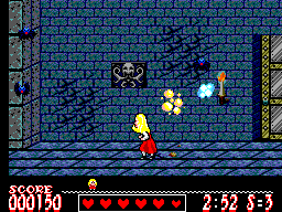 Laser Ghost (Europe) In game screenshot