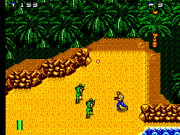 Mercs (Europe) In game screenshot