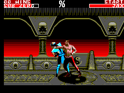 Mortal Kombat II (Europe) In game screenshot