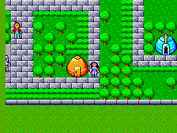 Phantasy Star (USA, Europe) (v1.2) In game screenshot