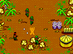 Rambo - First Blood Part II (USA) In game screenshot