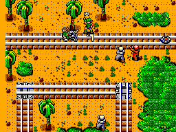 Rescue Mission (USA, Europe) In game screenshot