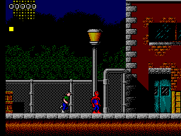 Spider-Man - Return of the Sinister Six (Europe) In game screenshot