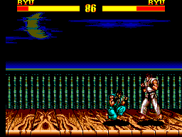 Street Fighter II (Brazil) In game screenshot