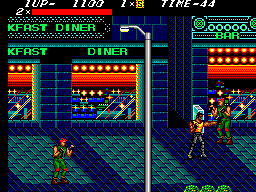 Streets of Rage (Europe) In game screenshot