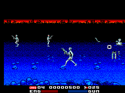 T2 - The Arcade Game (Europe) In game screenshot