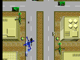 Thunder Blade (Japan) In game screenshot