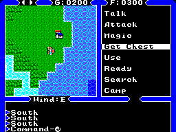 Ultima IV - Quest of the Avatar (Europe) In game screenshot