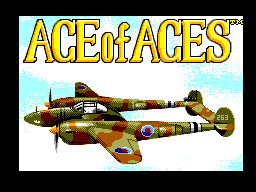 Ace of Aces (Europe) Title Screen