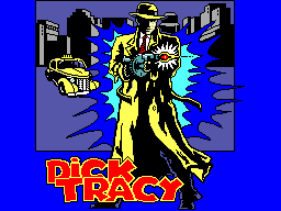 Dick Tracy (USA, Europe) Title Screen