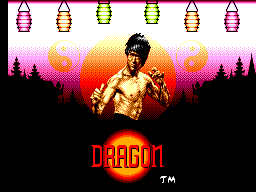 Dragon - The Bruce Lee Story (Europe) Title Screen