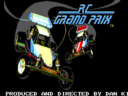 R.C. Grand Prix (USA, Europe) Title Screen
