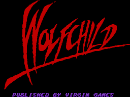 Wolfchild (Europe) Title Screen