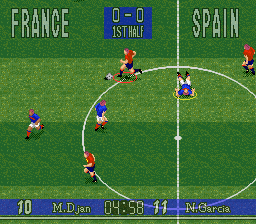 90 Minutes - European Prime Goal (Europe) In game screenshot