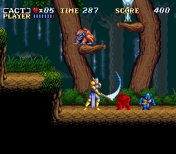 ActRaiser (Europe) In game screenshot