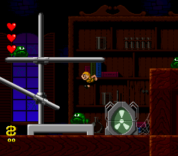 Addams Family, The - Pugsley's Scavenger Hunt (Europe) In game screenshot