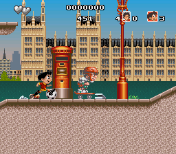 Adventures of Kid Kleets, The (USA) (En,Fr,Es) In game screenshot