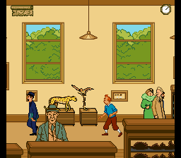 Adventures of Tintin, The - Prisoners of the Sun (Europe) (En,Fr,De,Es) In game screenshot