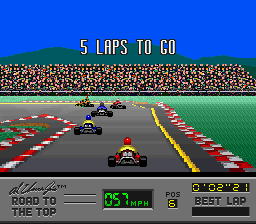 Al Unser Jr.'s Road to the Top (USA) In game screenshot