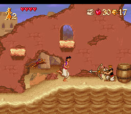 Aladdin (Germany) In game screenshot
