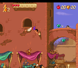 Aladdin (Spain) In game screenshot