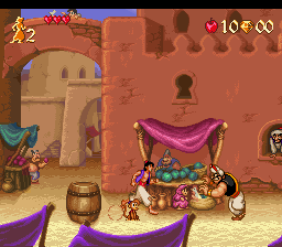 Aladdin (USA) (Beta) In game screenshot