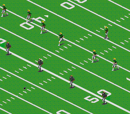 All-American Championship Football (Europe) In game screenshot