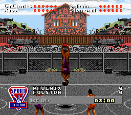 Barkley Shut Up and Jam! (USA) In game screenshot