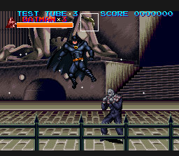 Batman Returns (Europe) In game screenshot