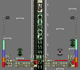 Battle Grand Prix (USA) In game screenshot