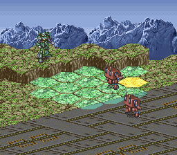 Battle Robot Retsuden (Japan) In game screenshot