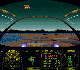 Battletech (Japan) In game screenshot