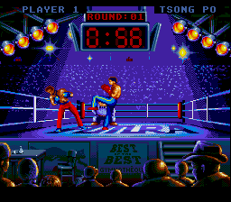 Best of the Best - Championship Karate (Europe) (Beta) In game screenshot