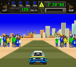 Big Run - The Supreme 4WD Challenge (Japan) In game screenshot