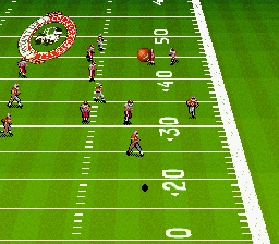 Bill Walsh College Football (USA) In game screenshot