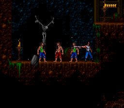Blackthorne (USA) In game screenshot